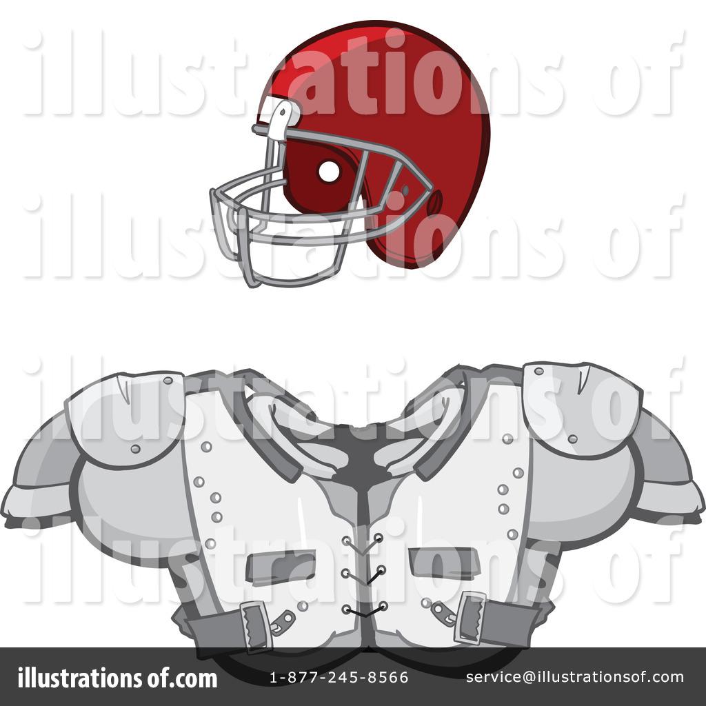 football clipart 1106645 illustration by cartoon solutions