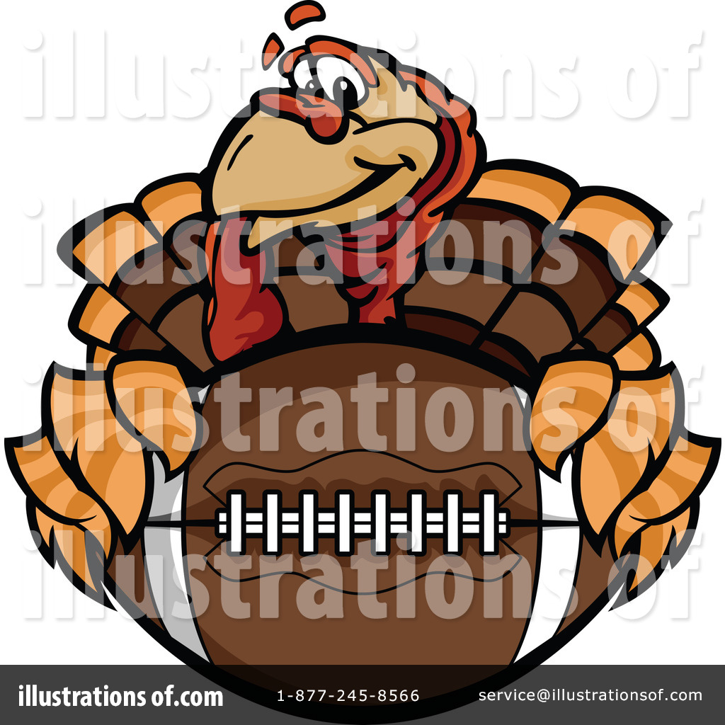 Thanksgiving Football Clipart - Vector Clipart Thanksgiving Turkey