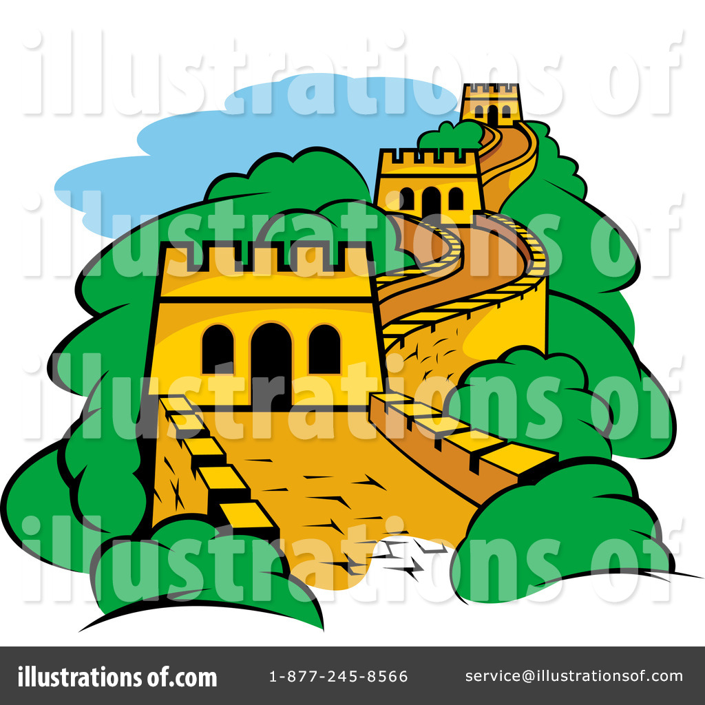 Fortress Clipart #1114186 - Illustration by Vector Tradition SM