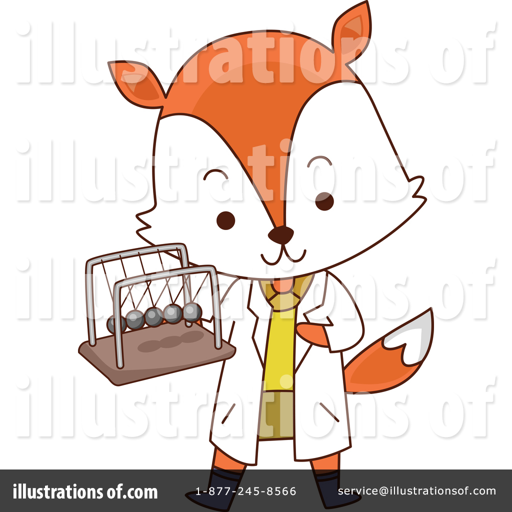 Fox Clipart 1246241 Illustration By Bnp Design Studio