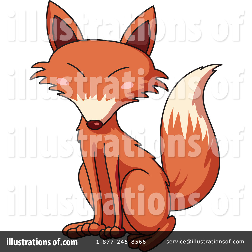 fox clipart 1120694 illustration by graphics rf