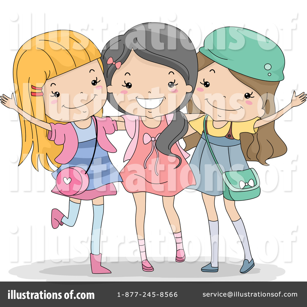 friends clipart 1150838 illustration by bnp design studio rh illustrationsof com free clipart friends holding hands free clipart friends of the library