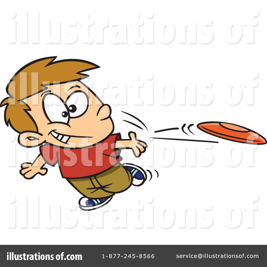 frisbee clipart 1044951 illustration by toonaday rh illustrationsof com frisbee clip art free ultimate frisbee clipart