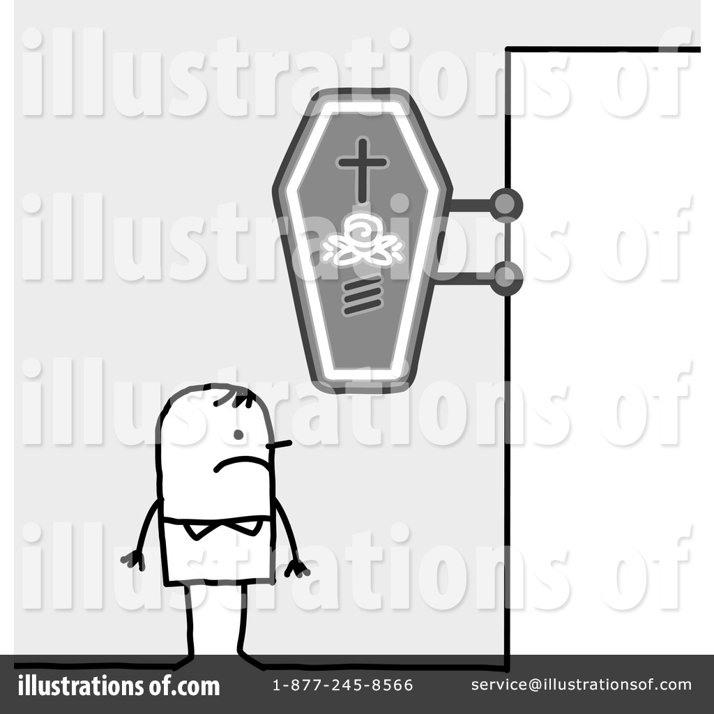 Funeral Clipart #435716 - Illustration by NL shop
