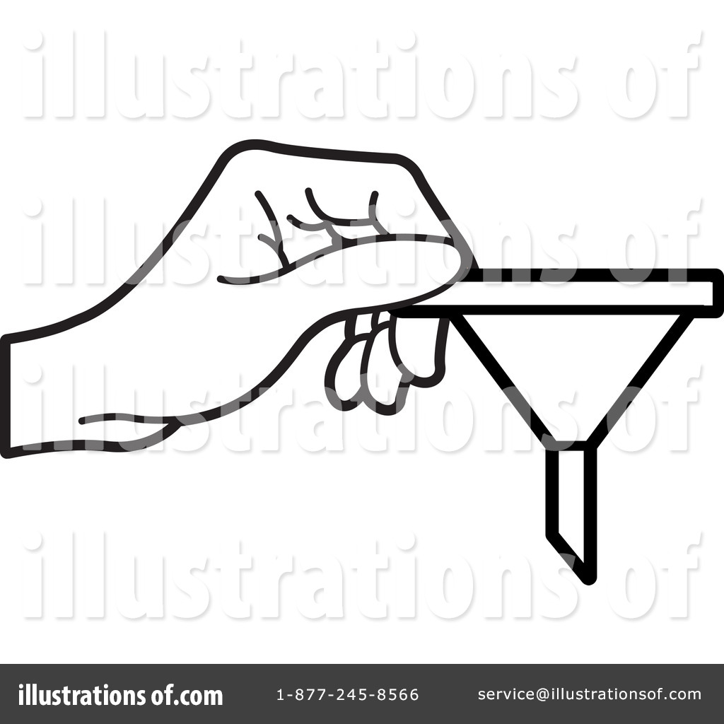 Funnel Clipart #1233788 - Illustration by Lal Perera