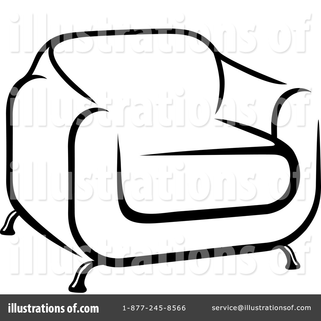 Royalty Free (RF) Furniture Clipart Illustration By Vector Tradition SM    Stock Sample