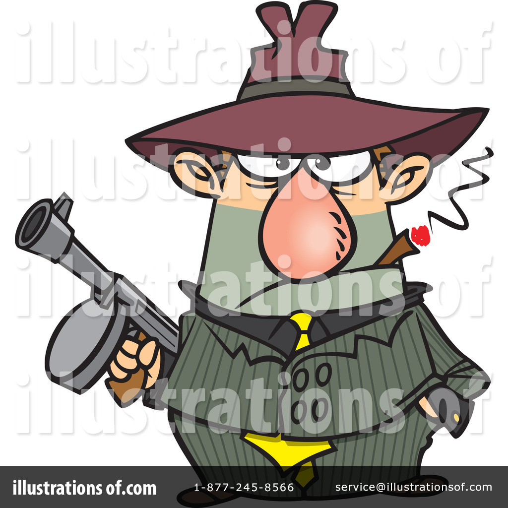 gangster clipart 441282 illustration by toonaday rh illustrationsof com funny gangster clipart gangster chain clipart