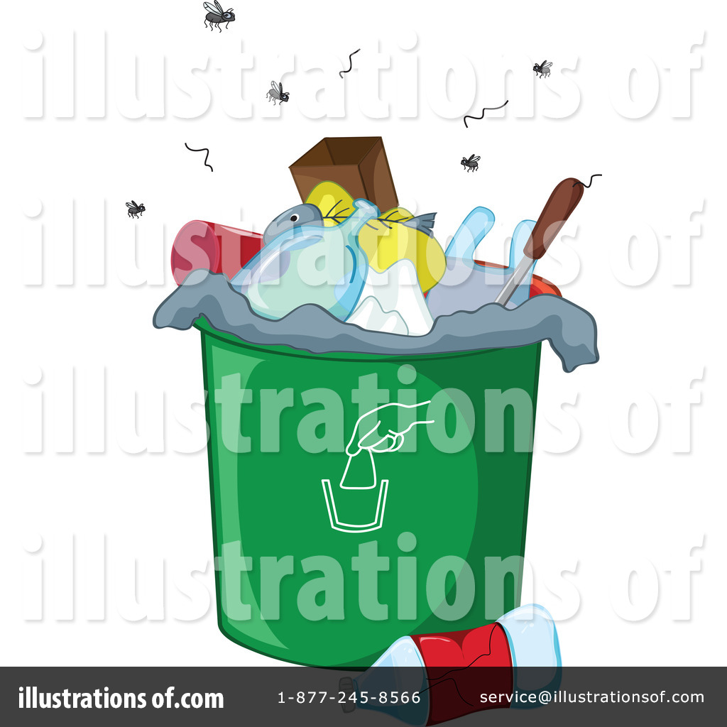 Garbage Clipart #1130074 - Illustration by colematt