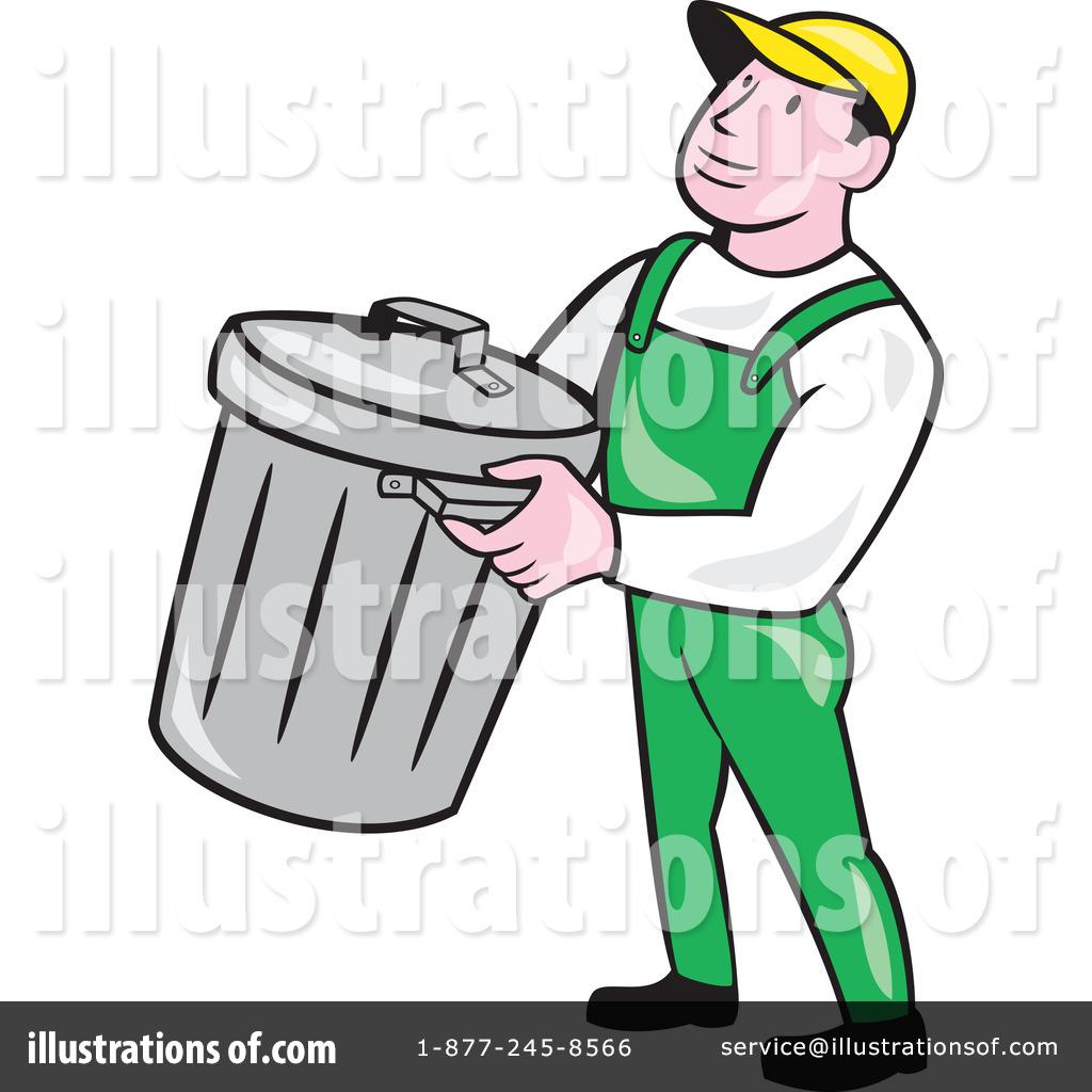 Royalty Free RF Garbage Man Clipart Illustration 1264912 By Patrimonio