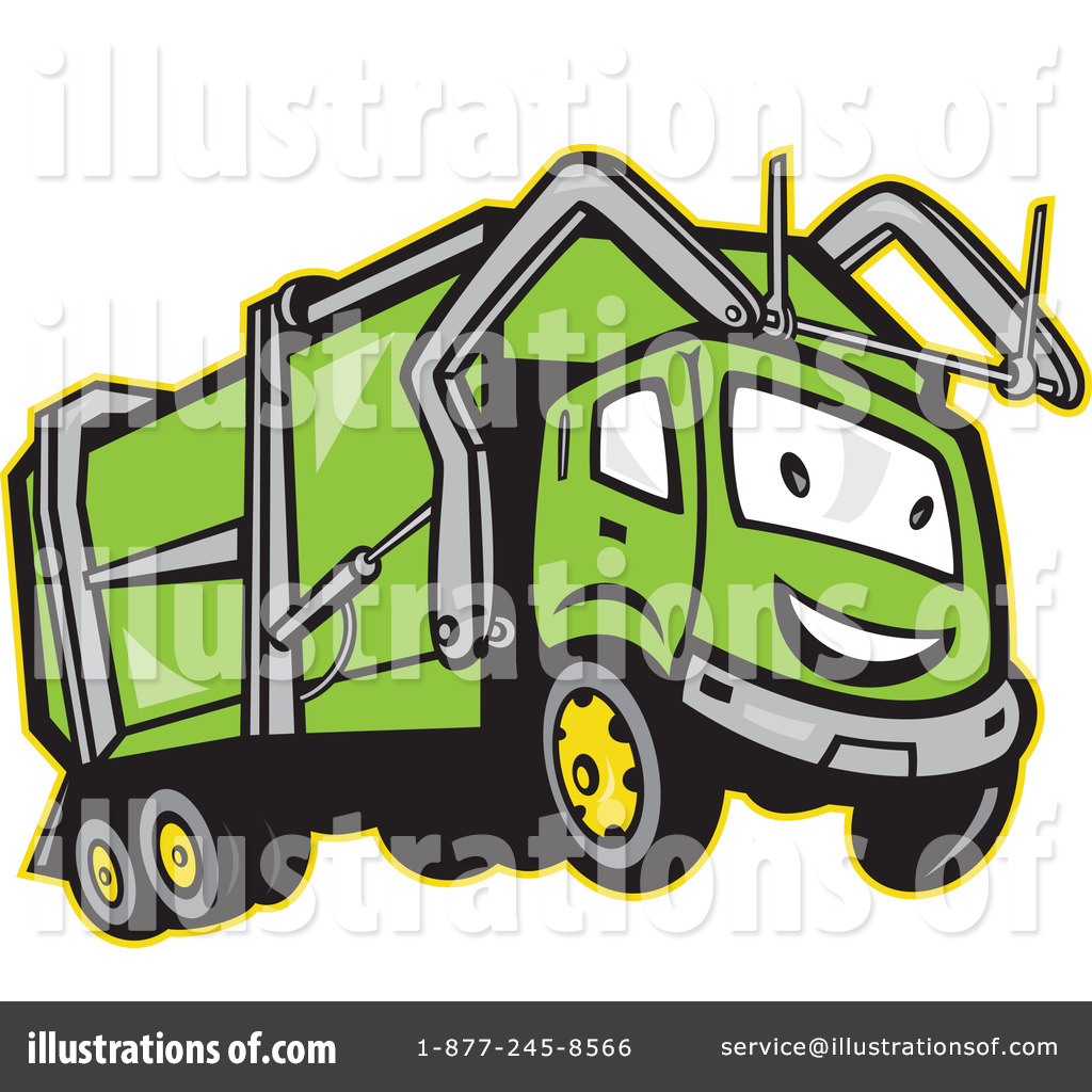 garbage truck clipart 1146383 illustration by patrimonio rh illustrationsof com  garbage truck clipart black and white