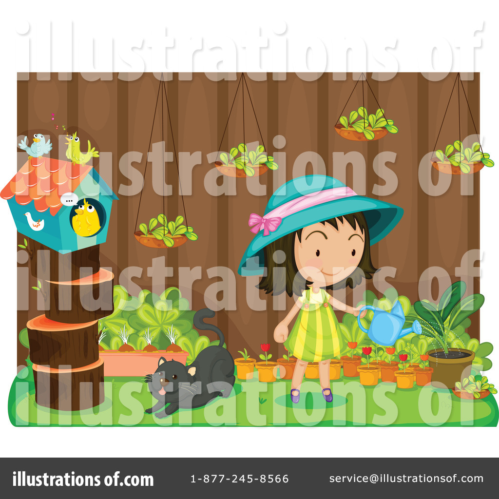 Garden Clipart #1114341 - Illustration by Graphics RF