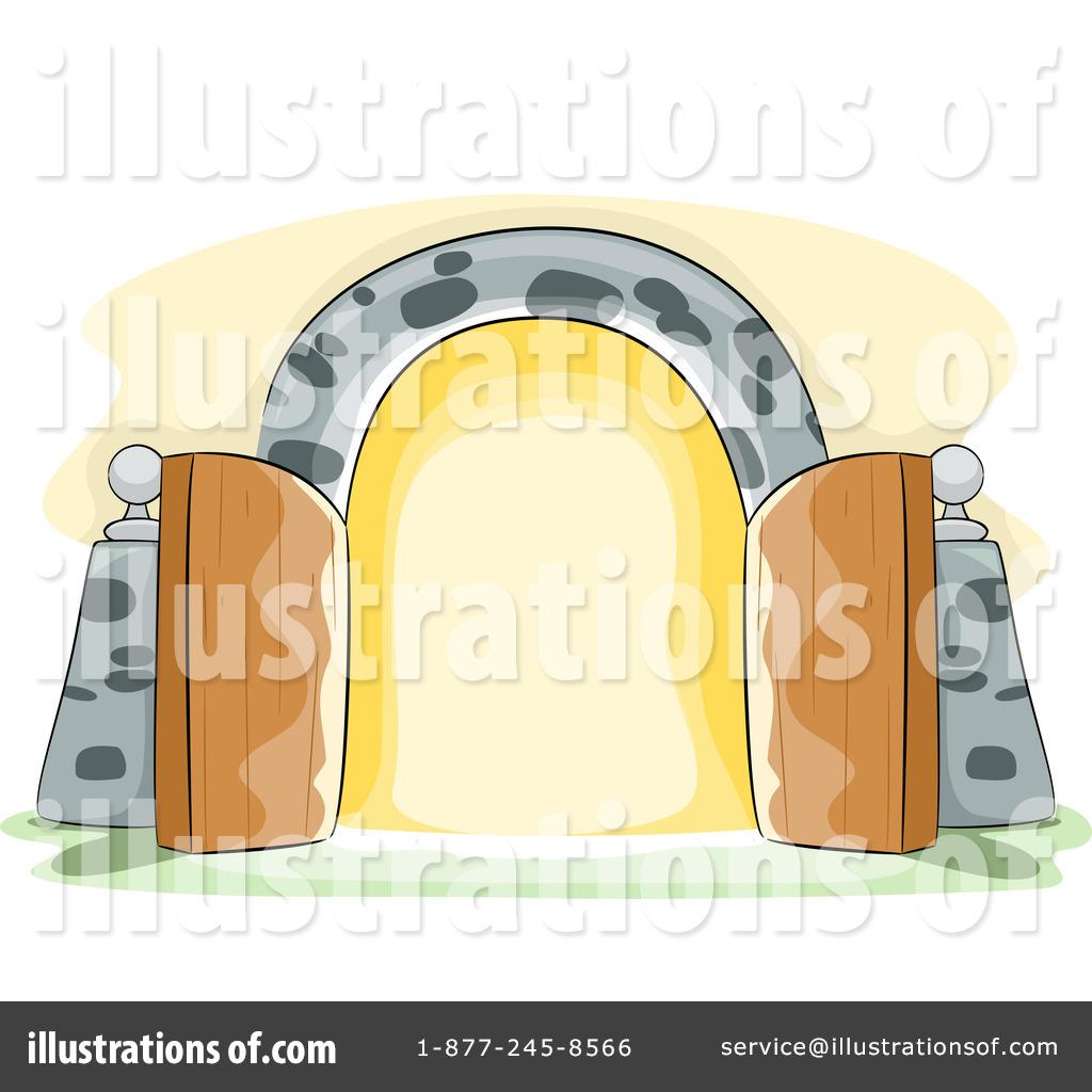 Gate clipart illustration by bnp design studio