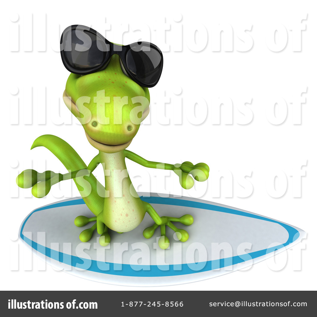 Gecko Clipart #1109867 - Illustration by Julos