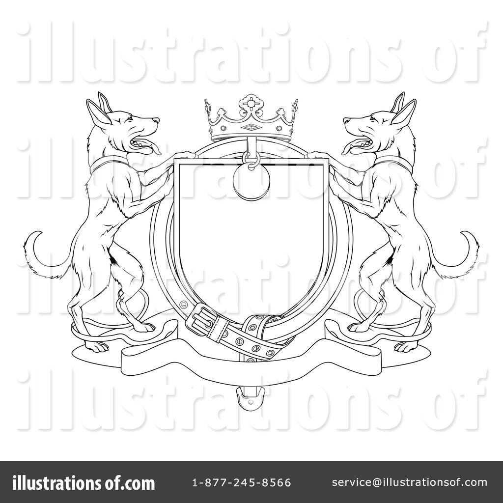 german shepherd clipart 1067771 illustration by atstockillustration