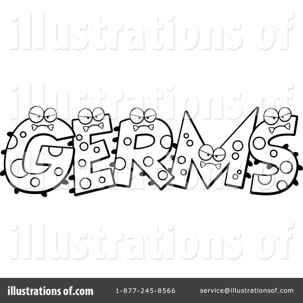 Free coloring pages germs - Royalty Free Rf Germs Clipart Illustration 1229760 By Cory Thoman