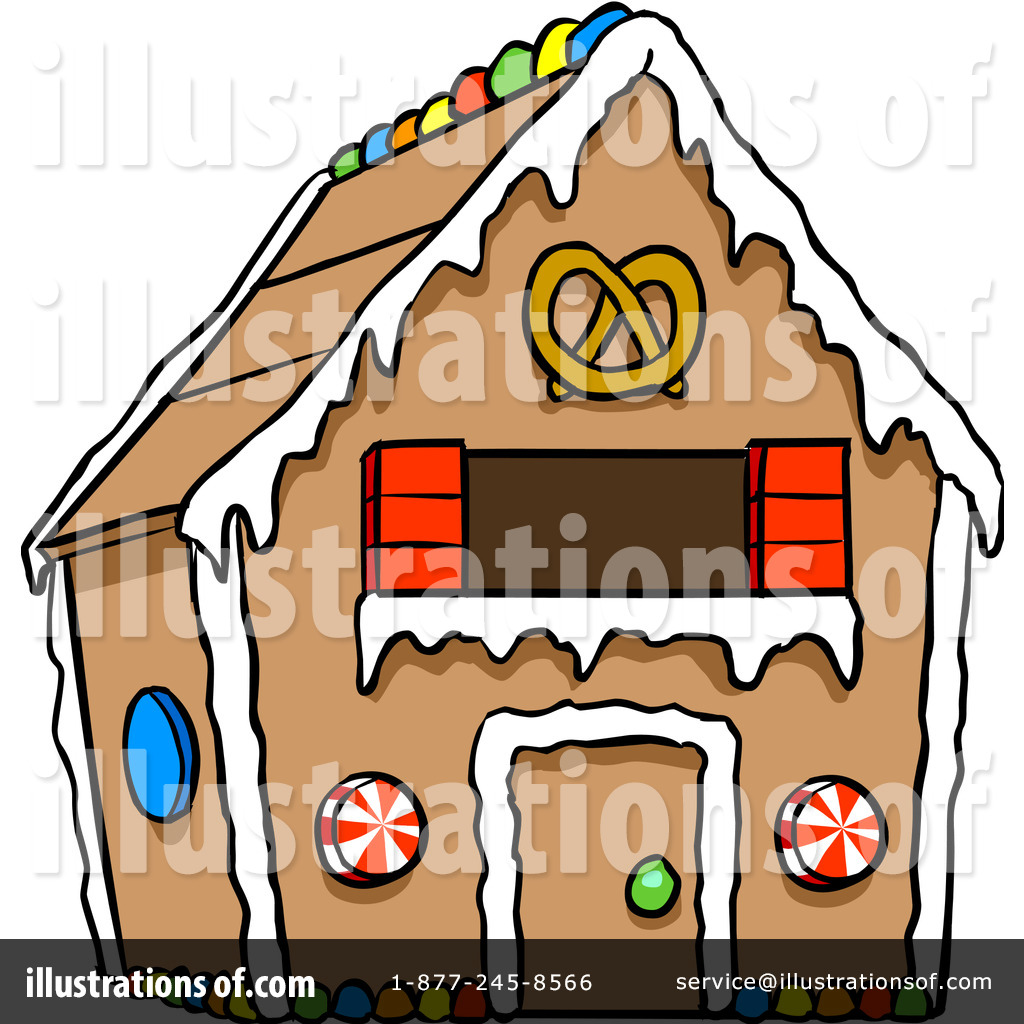 gingerbread house clipart 1106600 illustration by cartoon solutions rh illustrationsof com Hansel and Gretel Inside House Hansel and Gretel Inside House