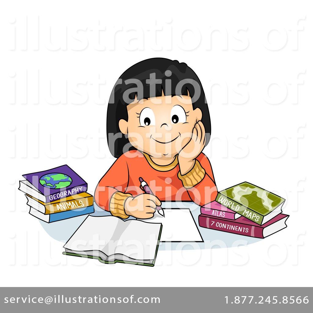 7f2f3b1cd2c Homework Clipart #74066 - Illustration by BNP Design Studio