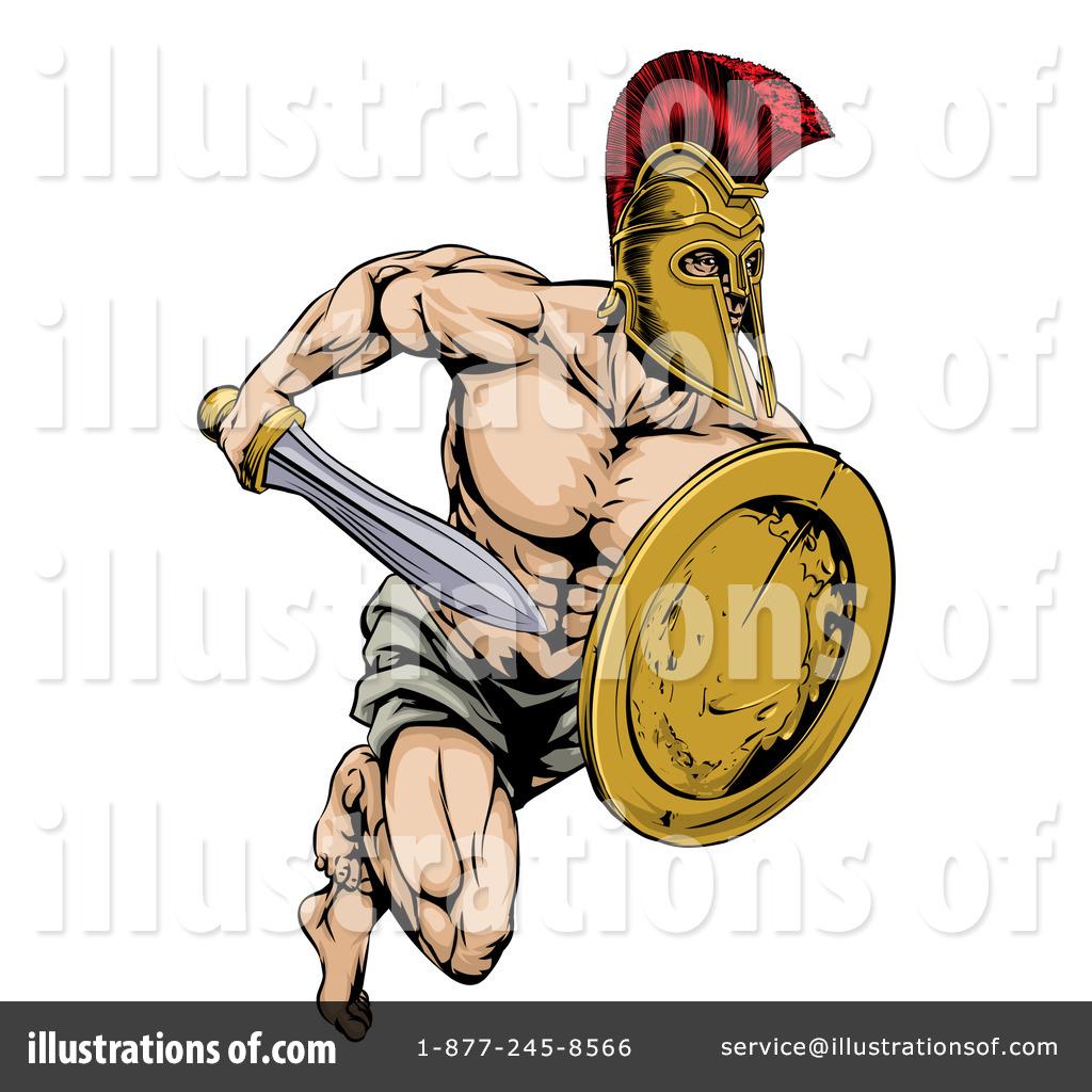 gladiator clipart 1315919  illustration