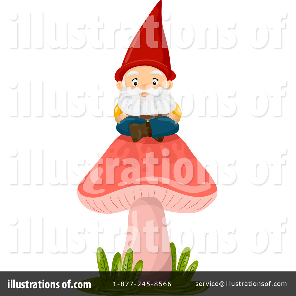 Gnome Clipart #1221233 - Illustration by BNP Design Studio