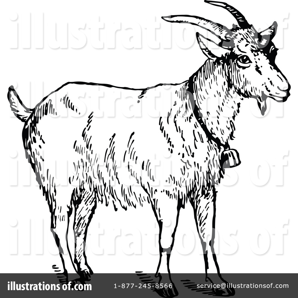 goat clipart 1135254 illustration by prawny vintage rh illustrationsof com goat clipart free vector free billy goat clipart