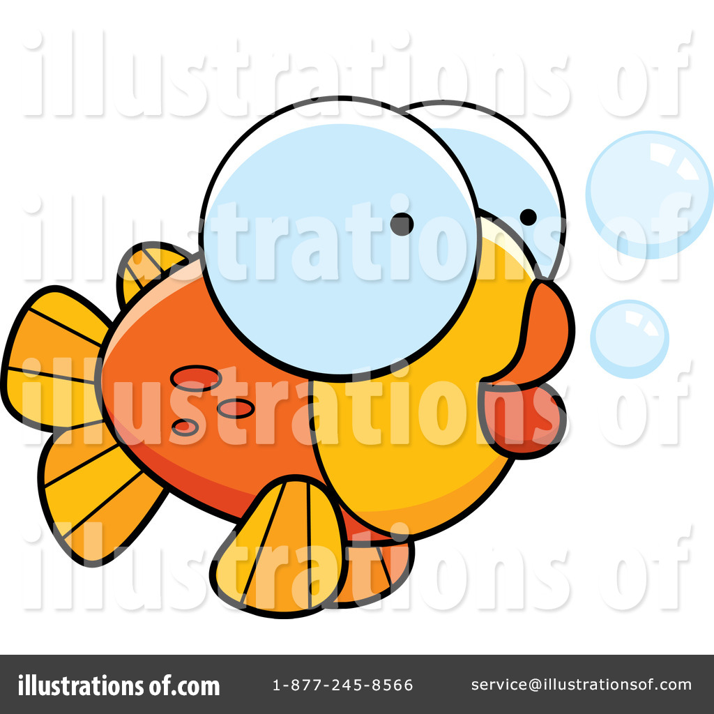 Goldfish Clipart #438474 - Illustration by Cory Thoman