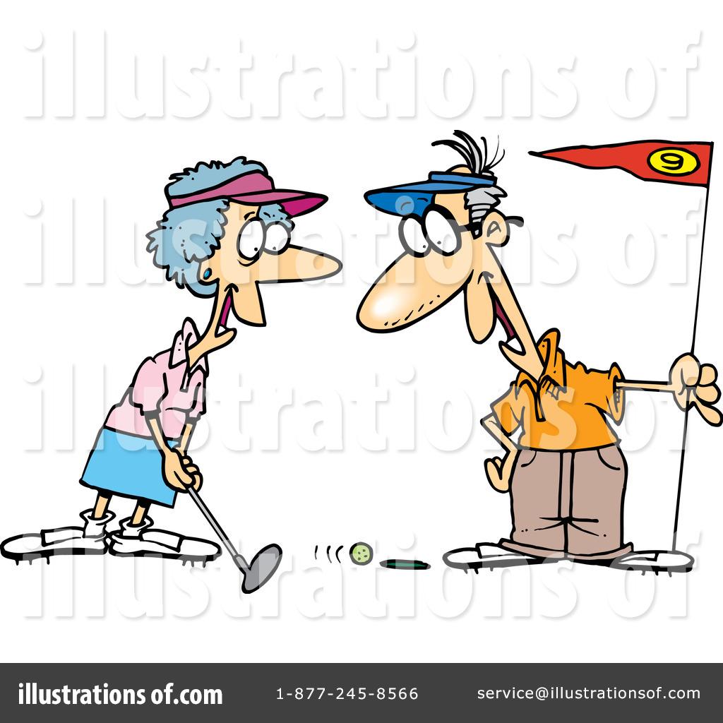 golfing clipart 1047667 illustration by toonaday rh illustrationsof com golf clip art free images golf clipart borders