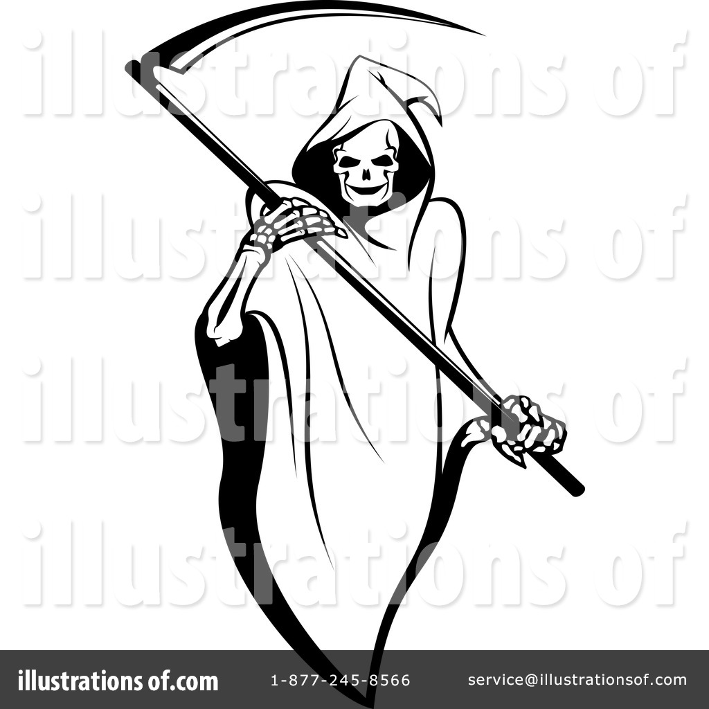 Clip Art Grim Reaper Clipart grim reaper clipart 1065662 illustration by vector tradition sm royalty free rf sm