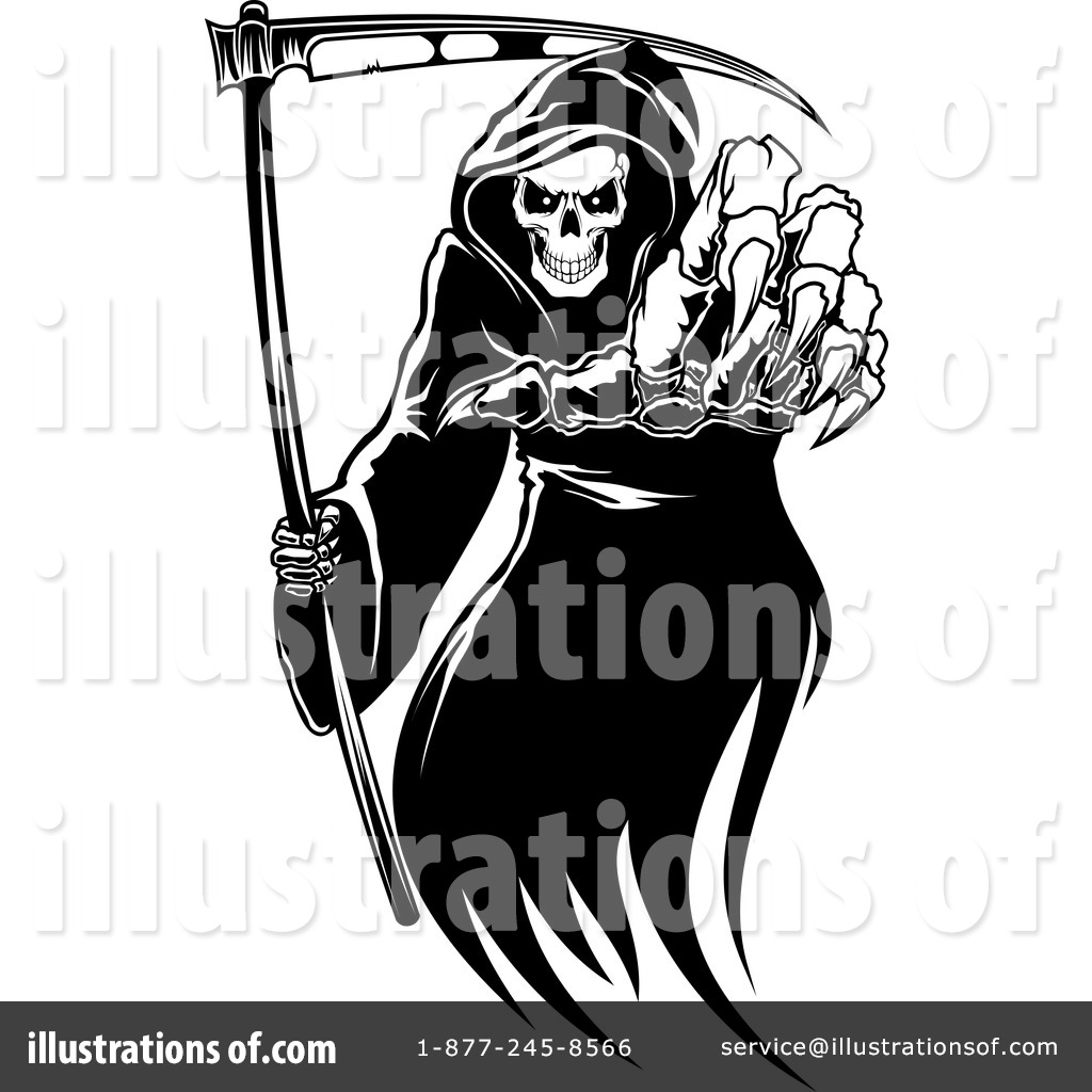 Clip Art Grim Reaper Clipart grim reaper clipart 1134497 illustration by vector tradition sm royalty free rf sm