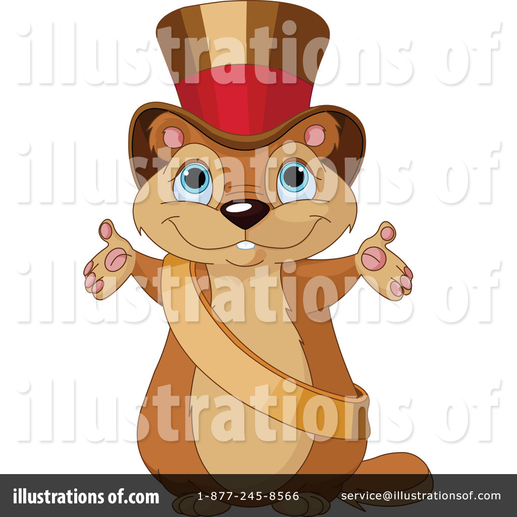 Groundhog Clipart #1160591 - Illustration by Pushkin