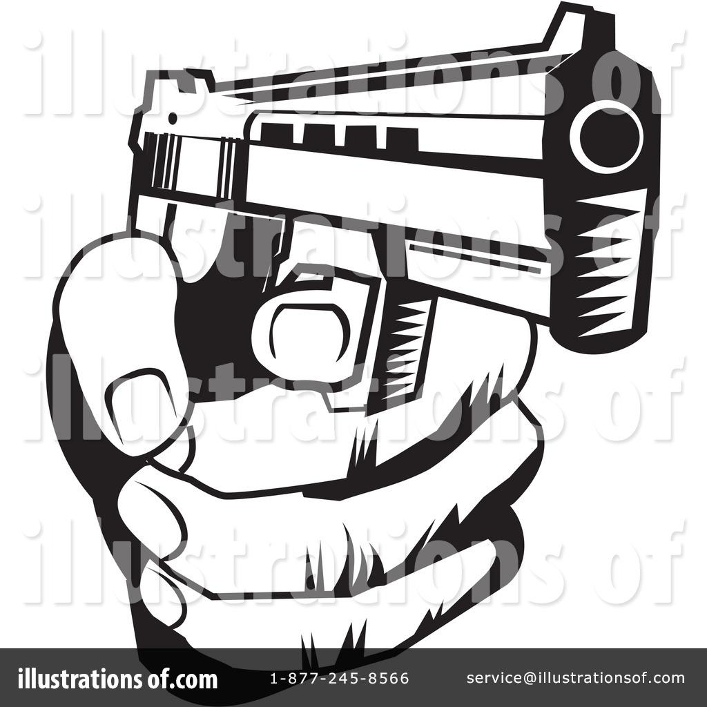 Clip Art Guns Clipart gun clipart 225847 illustration by david rey royalty free rf rey
