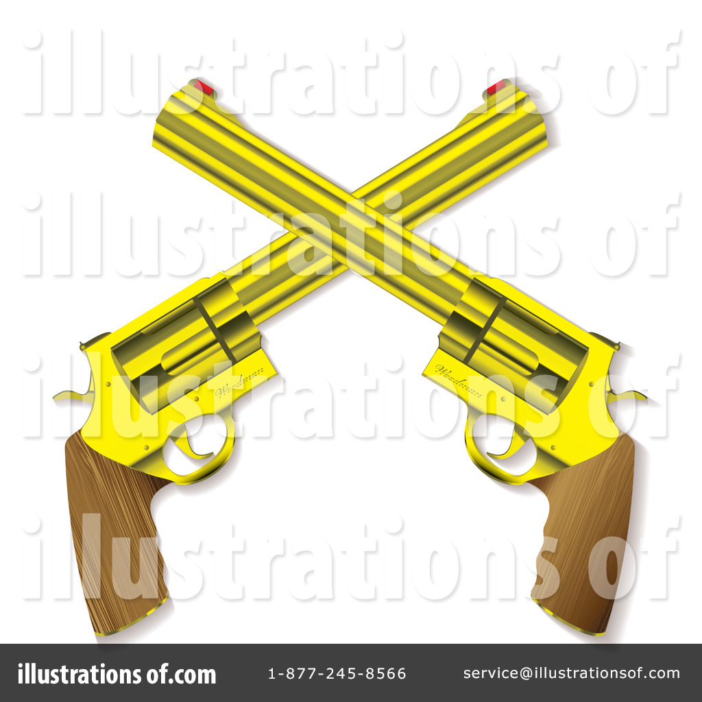 Guns Clipart #1096168 - Illustration by michaeltravers