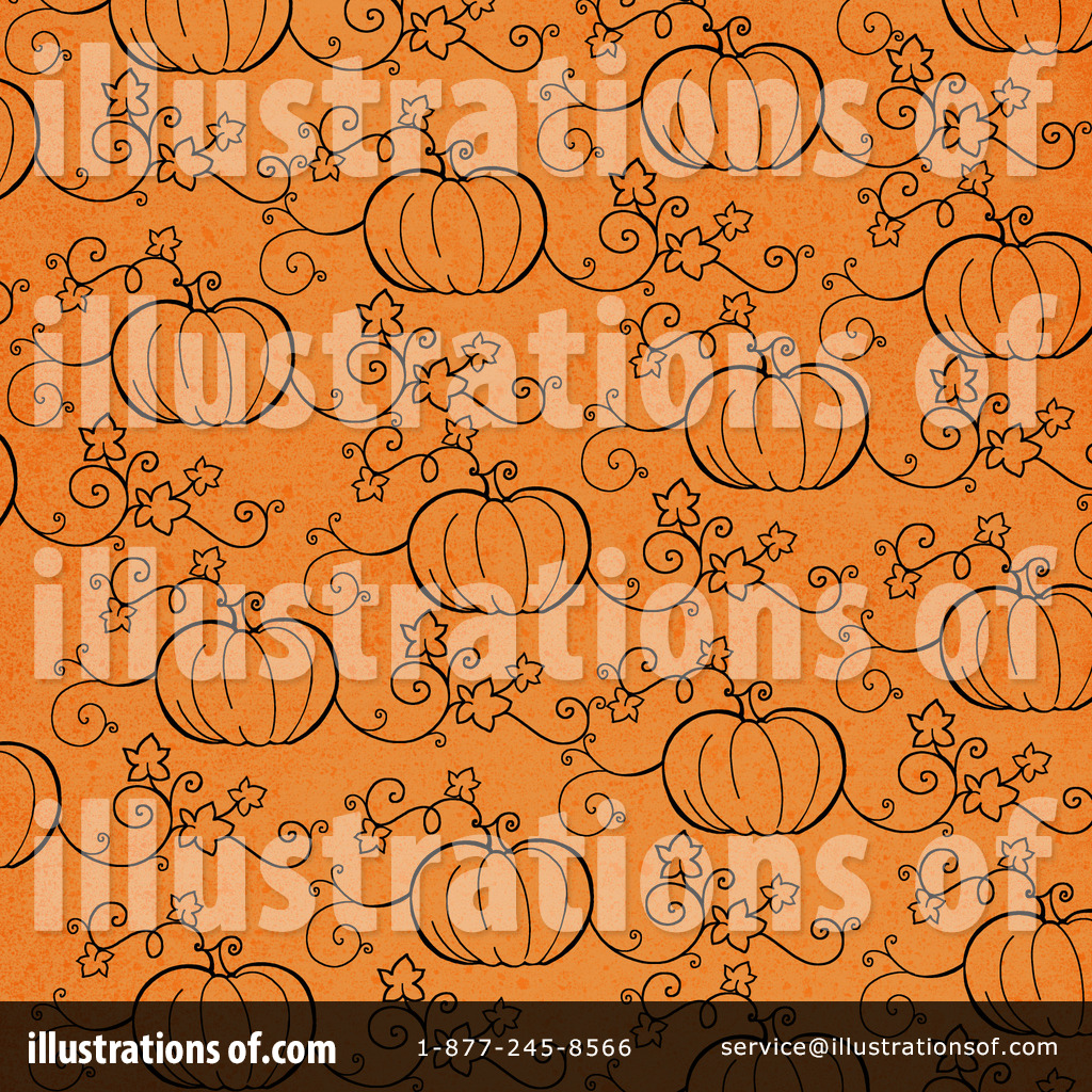 Halloween Background Clipart #1113360 - Illustration by Gina Jane