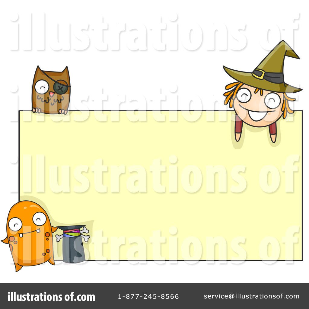 Halloween Frame Clipart #227853 - Illustration by BNP Design Studio