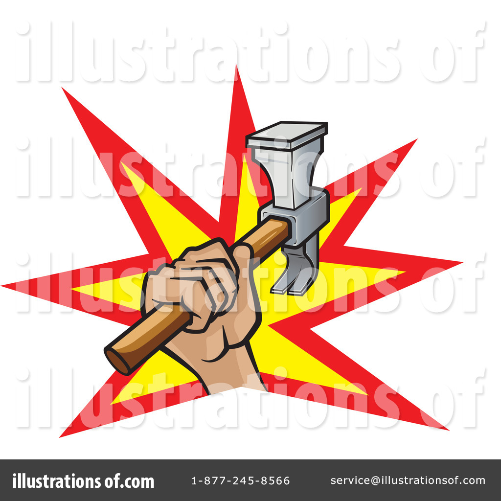 Hammer Clipart #1089717 - Illustration by Paulo Resende