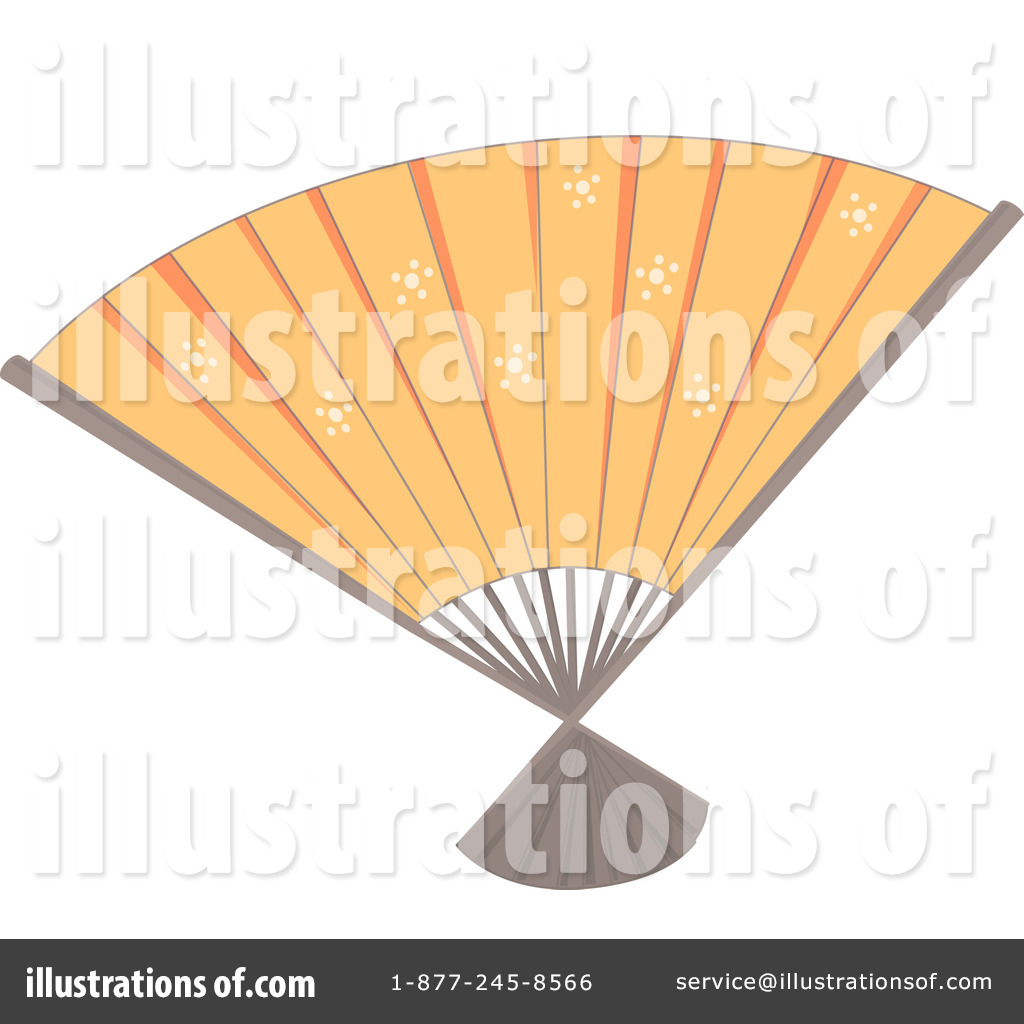 fan clipart. royalty-free (rf) hand fan clipart illustration by graphics rf - stock sample