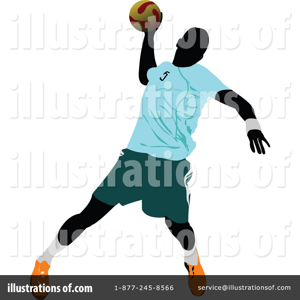 Handball Clipart #228536 - Illustration by leonid