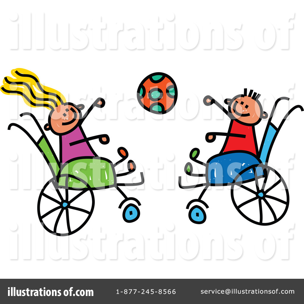 Handicap Clipart #1263492 - Illustration by Prawny