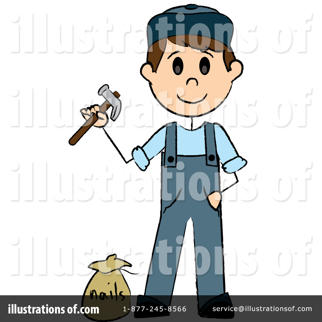 Handyman Clipart #76523 - Illustration by Pams Clipart