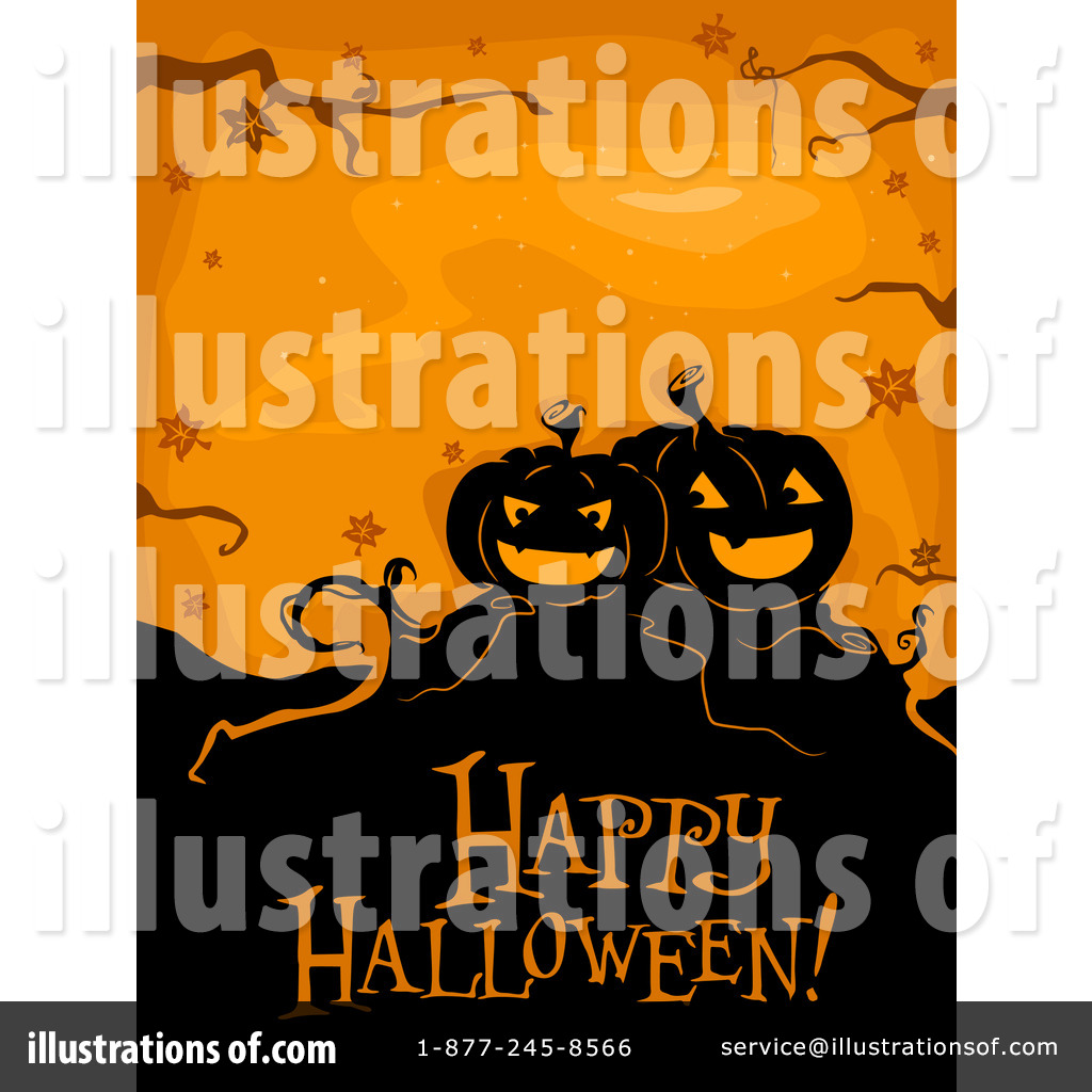 Exceptionnel Royalty Free (RF) Happy Halloween Clipart Illustration #227843 By BNP Design  Studio