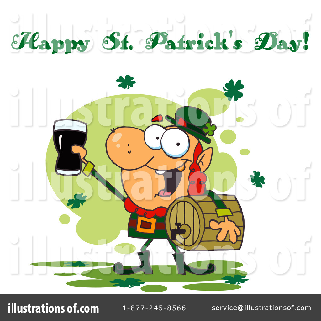 happy st patricks day clipart 92382 illustration by hit toon