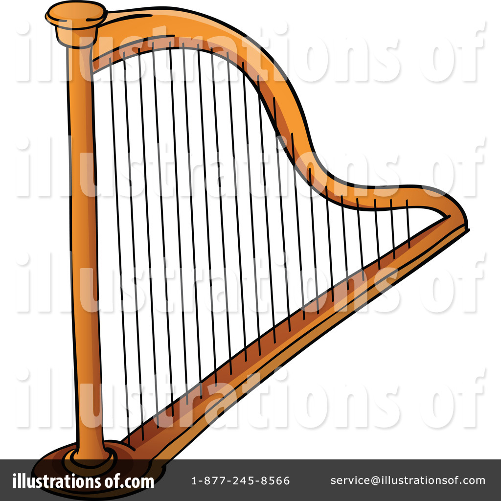 Clip Art Harp Clipart harp clipart 1129438 illustration by colematt royalty free rf colematt