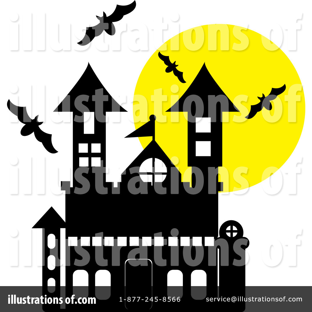 Haunted houses images clip art