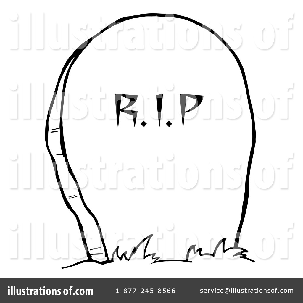 Headstone Clipart 226843 Illustration By Hit Toon