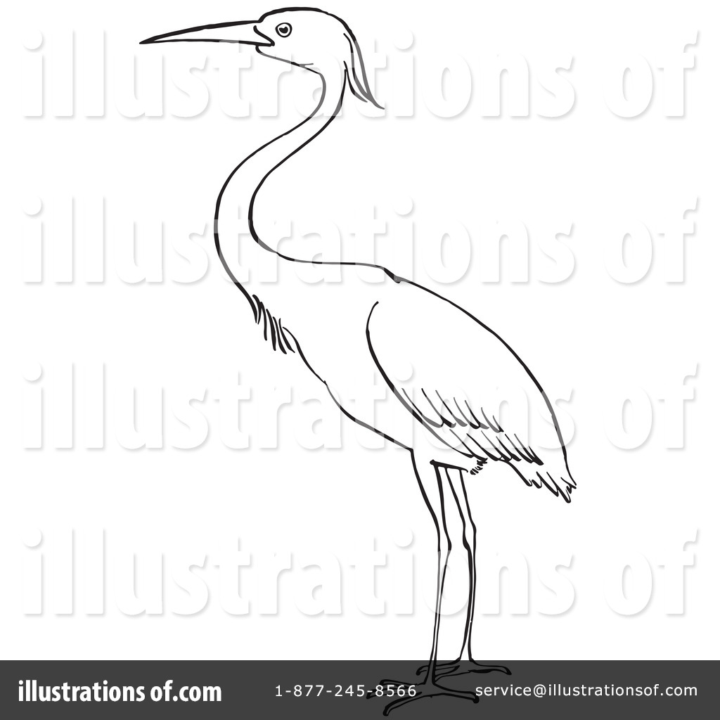 heron clipart 1129253 illustration by picsburg