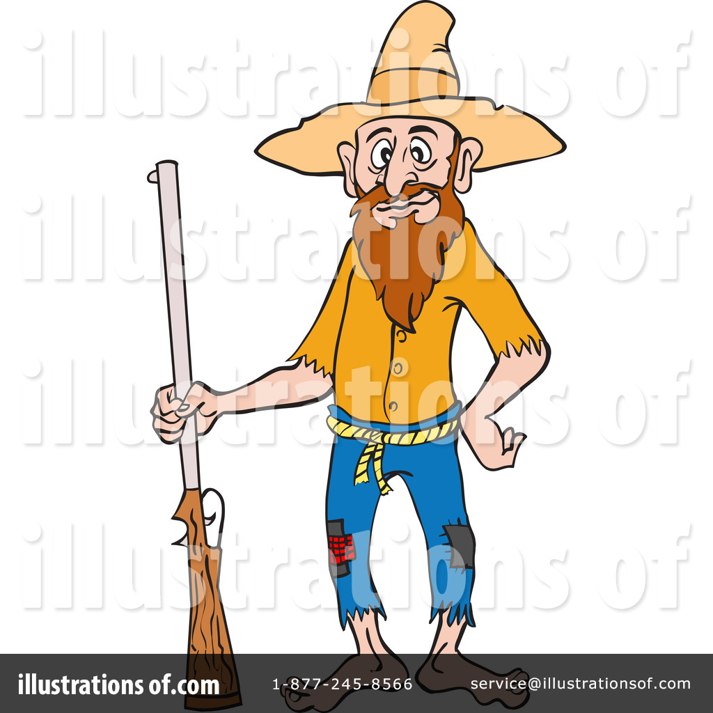 hillbilly clipart 1215643 illustration by lafftoon rh illustrationsof com