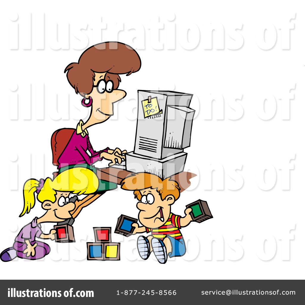 free home office. royaltyfree rf home office clipart illustration 442841 free
