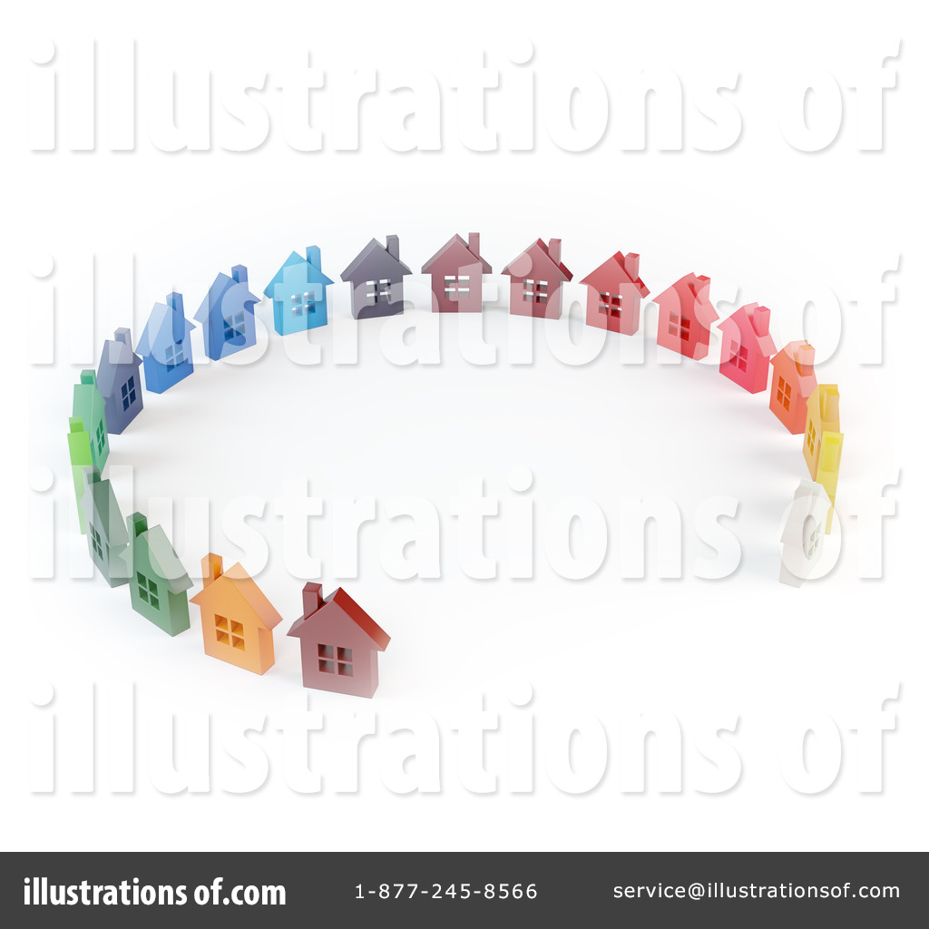 royalty free rf homes clipart illustration 1069295 by mopic