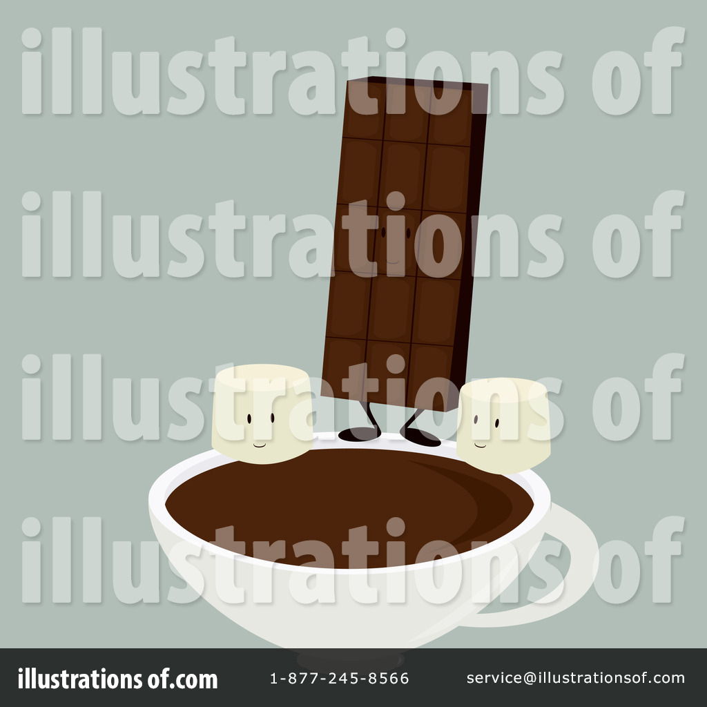 Hot Chocolate Clipart #1093437 - Illustration by Randomway