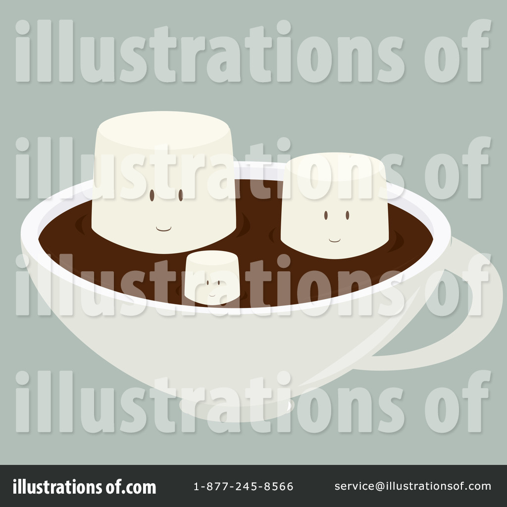 Hot Chocolate Clipart #1093453 - Illustration by Randomway