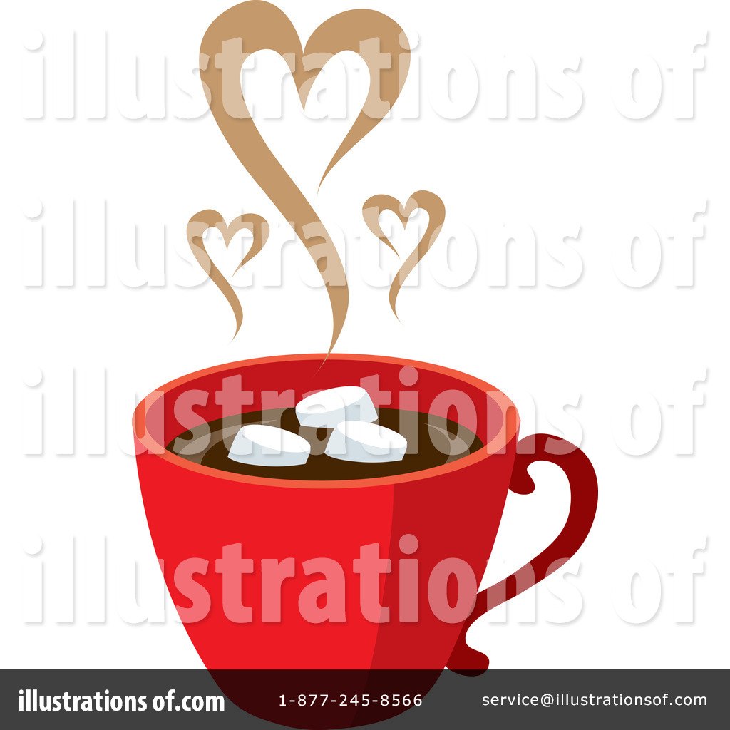 Hot Chocolate Clipart #75299 - Illustration by Rosie Piter